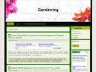 Flower/Garden Wordpress Template/Theme