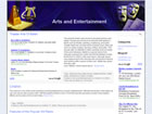 Arts & Entertainment Wordpress Template/Theme