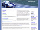 Automotive Wordpress Template/Theme